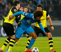 Sloppy Zenit made to pay by four-goal Dortmund