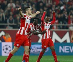 Olympiakos bask in glory of ``epic display``