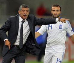 Greece coach Santos set to quit after World Cup