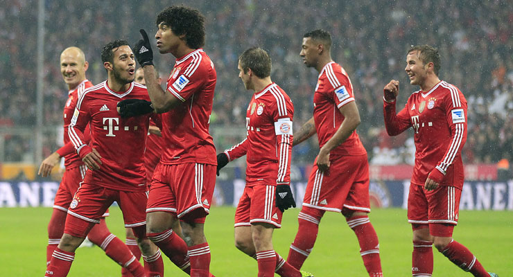 Bayern show no sign of letting up with 5-0 rout