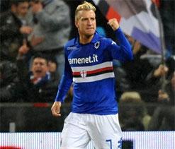 Lopez gives Sampdoria derby win over Genoa