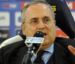 Lazio president says has received over 50 death threats