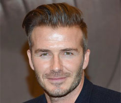 Beckham `at home already` in Miami
