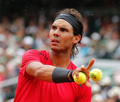 Nadal recovering well from back complaint, tests show
