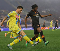 Gervinho winner sees Roma edge Napoli in Cup semi