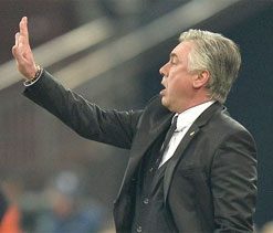 Ancelotti expecting `intense` not `ugly` derby clash