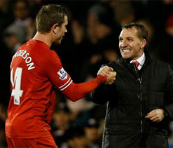 Rodgers again dismisses title talk as Liverpool go second
