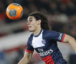 Cavani scores on comeback as PSG move eight points clear