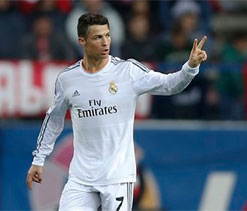 Ronaldo rescues a point for Real in Madrid derby