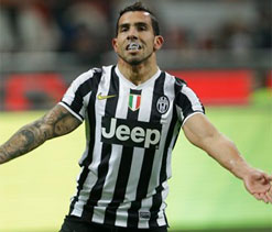 Llorente-Tevez double act strikes again for Juve