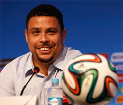 Ronaldo: World Cup stadiums will be ready