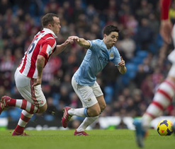 Stoke`s Adam gets three-match ban for Giroud stamp