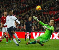 Sturridge header rewards rough-edged England