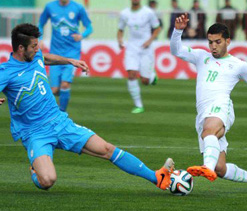 Football: Algeria win, Ivory Coast snatch draw