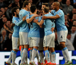 City lead charge as title race nears climax