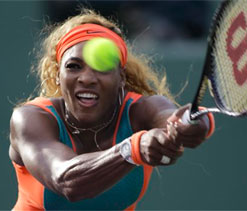 Serena back on song for French Open