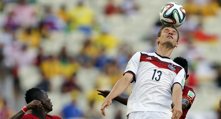 2014 FIFA World Cup: Germany vs Ghana - As it happened...