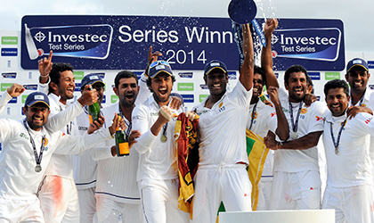 Sri Lanka tour of England 2014