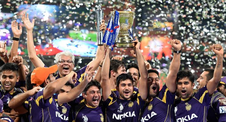 IPL 2014 champions KKR given royal felicitation at Eden Gardens