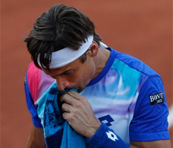 I threw in the towel, says David Ferrer after losing to Rafael Nadal