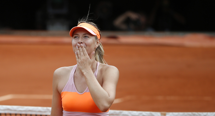 Ten years after, Sharapova still shines