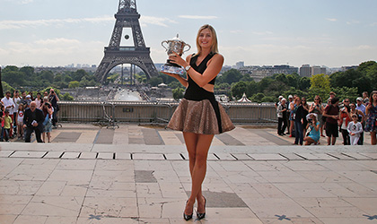 Maria Sharapova - 2014 French Open champion