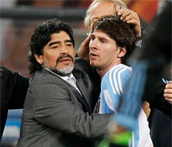 Is Messi on cusp of surpassing Maradona?