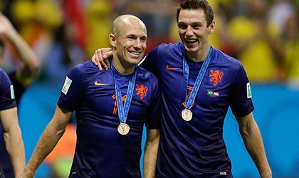 FIFA 2014: Netherlands beat Brazil  3-0, Match 63