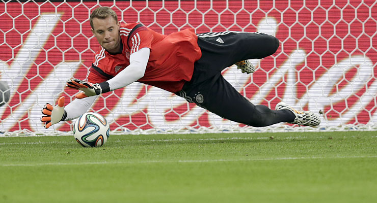 Goalkeepers shine brightest in Brazil
