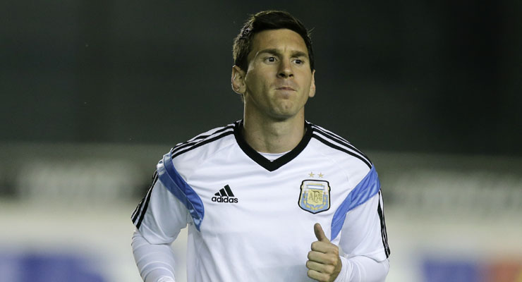 Passionate Messi ready to join Maradona in the pantheon