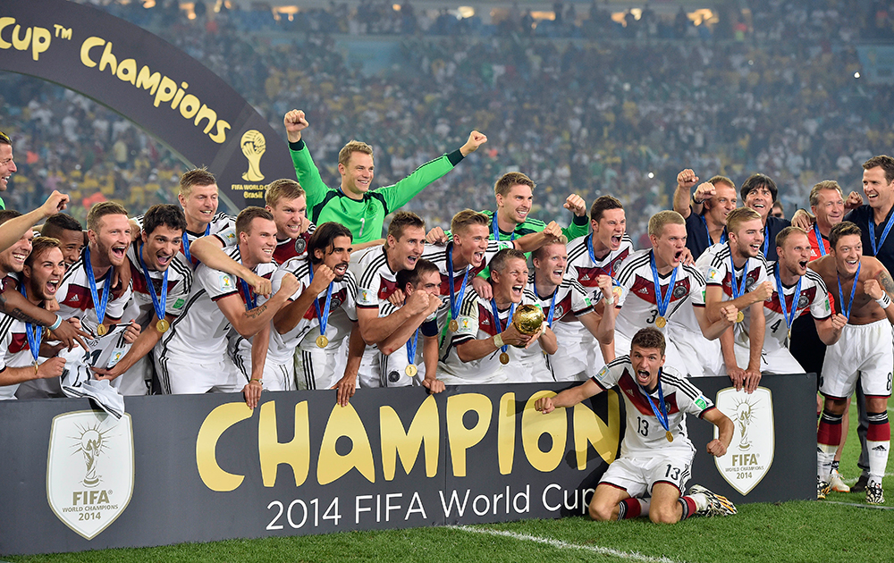 FIFA 2014: Germany beat Argentina 1-0, Match 64