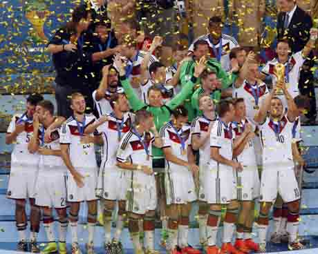 From Ground Zero: German machine beats Messi's Magic in final