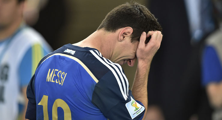 FIFA World Cup 2014 final: Lionel Messi laments lack of killer instinct