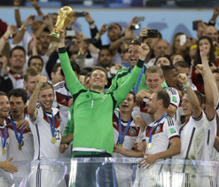 Team spirit behind World Cup win, says Germany`s Neuer
