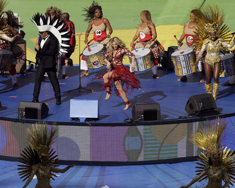 2014 FIFA World Cup Final: Shakira, Santana enthrall Maracana crowd at Closing Ceremony