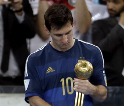 Did Lionel Messi deserve the Golden Ball award?