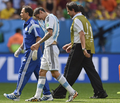 Di Maria loss would be hefty blow for Argentina
