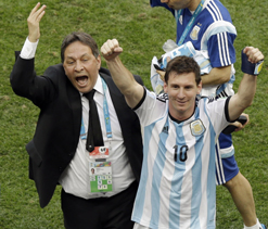 Messi like water in the desert for Argentina, says Sabella