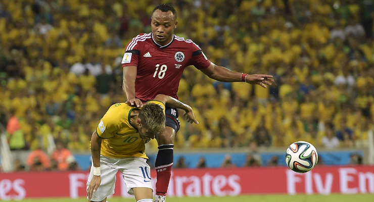 No action against Juan Camilo Zuniga for Neymar tackle: FIFA