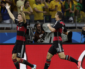FIFA World Cup: Germany through to final after crushing Brazil 7-1