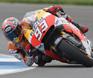 Marc Marquez tops rainy Czech MotoGP practice