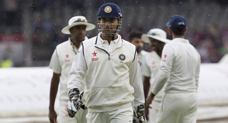 India vs England 2014: 4th Test, Day 2 - Play abandoned for the day